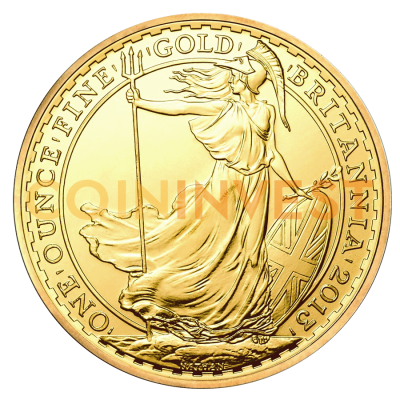 1 oz Britannia Gold Coin (mixed years)