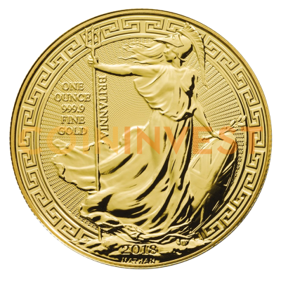 1 oz Britannia Oriental Border d'Or (2018)