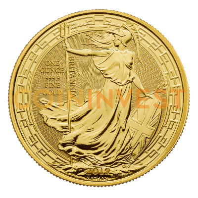 1 oz Britannia Oriental Border Goldmünze (2019)