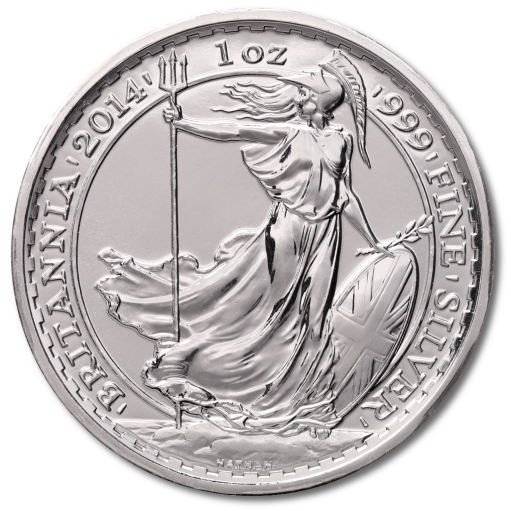 1 oz Britannia Privy Mark Cheval | Argent | 2014