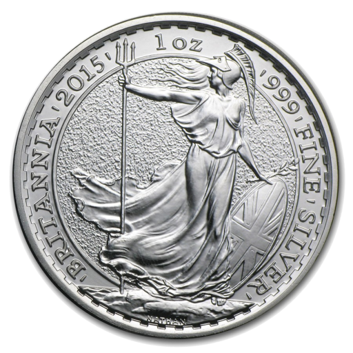 1 oz Silver Britannia (mixed years)