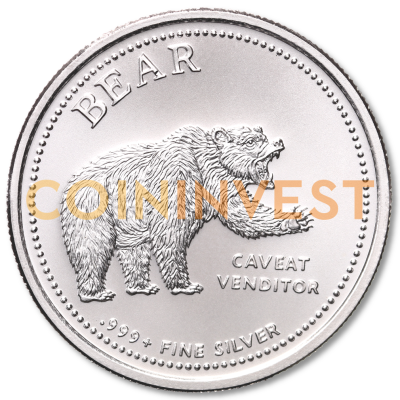 1 oz Bull and Bear | Silver | Round