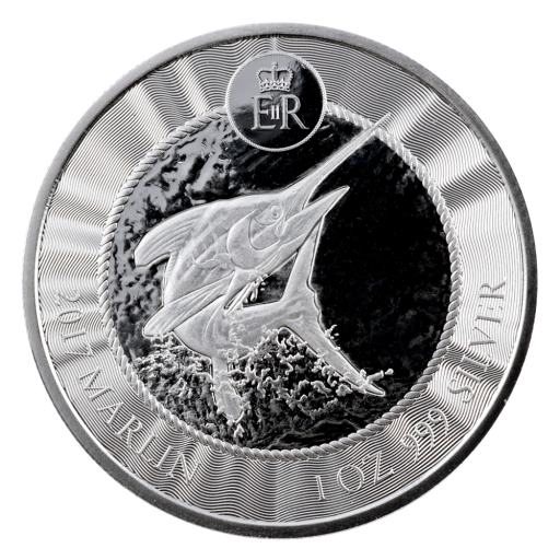 1oz Cayman Islands Silver Marlin (2017)