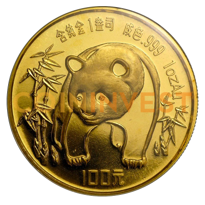 1 oz China Panda | Gold | 1986
