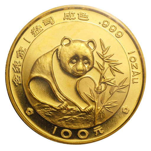 1 oz Panda Chinois | Or | 1988