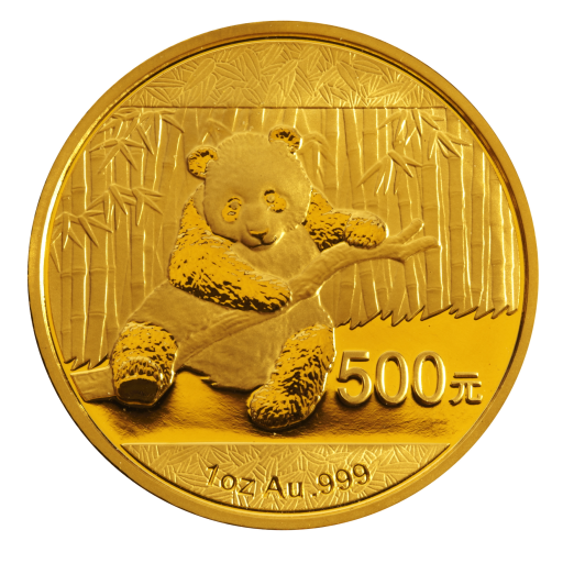 1 oz Panda China | Oro | 2014