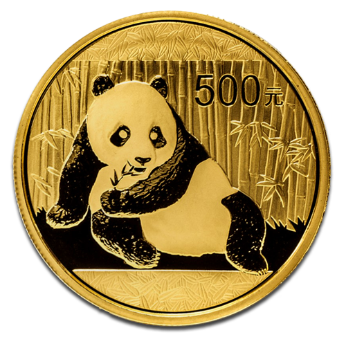 1 oz Panda Chinois | Or | 2015