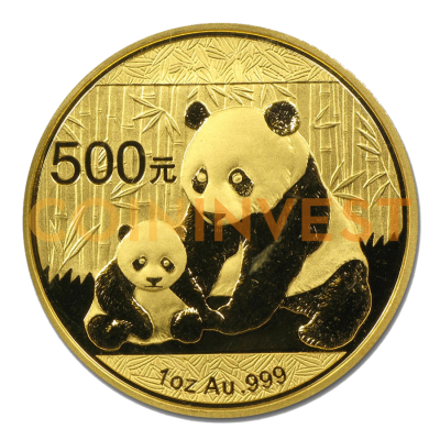 1 oz China Panda | Gold | mixed years