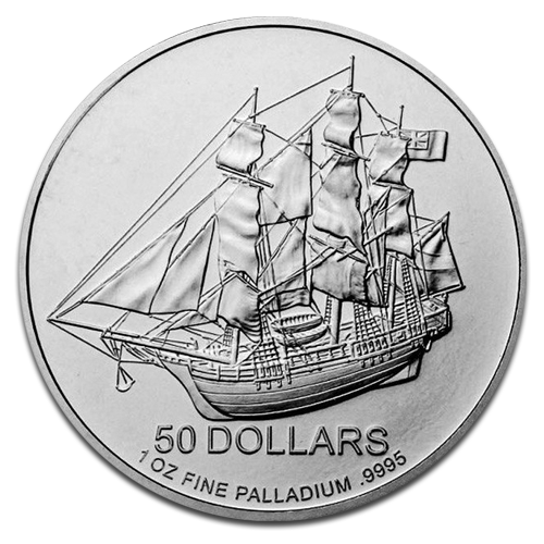 1 oz Cook Island | Palladium | mixed years