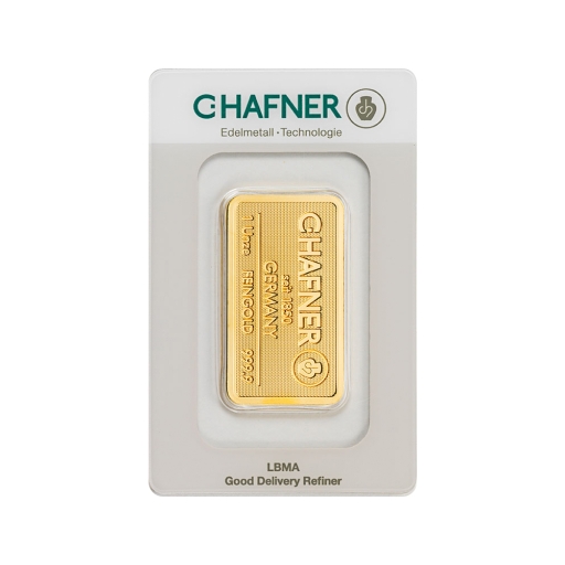 1 oz Goldbarren | C.Hafner