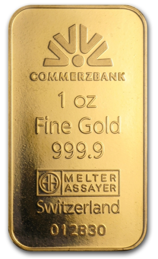 1 oz Gold Bar | Commerzbank