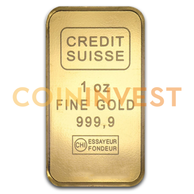 1 oz Goldbarren | Credit Suisse