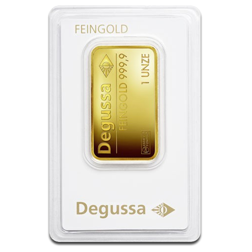 1 oz Gold Bar | Degussa