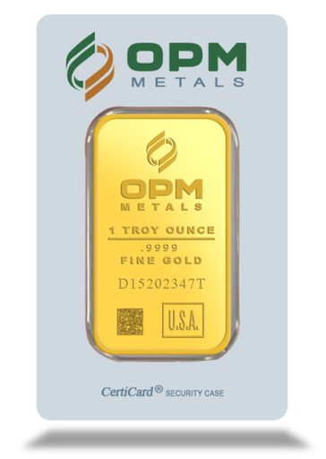 1 oz Gold Bar | OPM