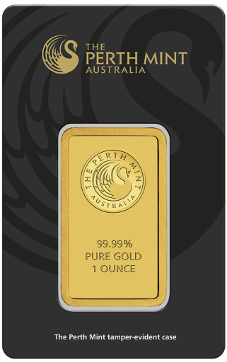 1 oz Goldbarren | Perth Mint | zirkuliert