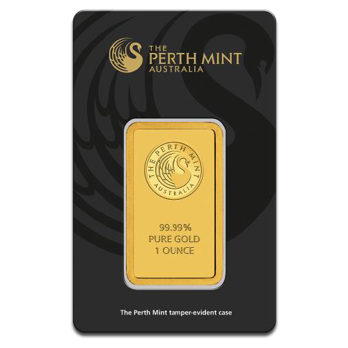 1 oz Lingot d'Or | Perth Mint | avec Certificat