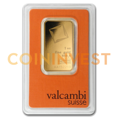 1 oz Lingot d'Or | Valcambi