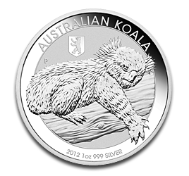 1 oz Koala Privy Berliner Bear | Argent | 2012