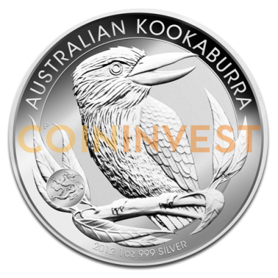 1 oz Kookaburra Privy Mark Dragon | Silver | 2012