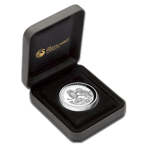 1 oz Kookaburra | Argent | Proof | High Relief | 2013