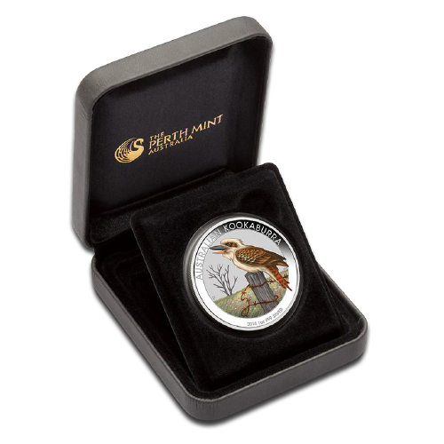 1 oz Kookaburra Edizione Speciale World Money Fair | Argento | 2016