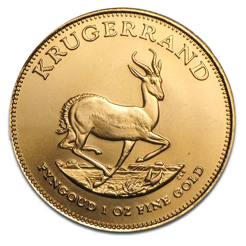 1 oz Krugerrand | Gold | 2nd choice | mixed year