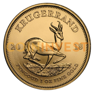 1 oz Krugerrand Gold Coin (2018)