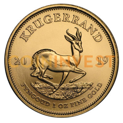 1 oz Krugerrand Gold Coin (2019)