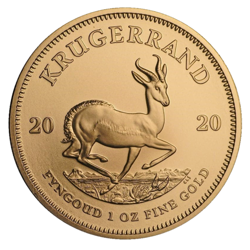 1 oz Krugerrand Gold Coin (2020)