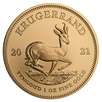 1 oz Krugerrand Gold Coin (2021)