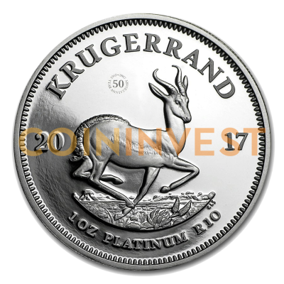 1 oz Krugerrand | Platino | Proof | 2017