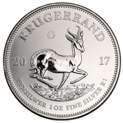 1 oz Krugerrand Premium Uncirculated Silver Coin (2017)