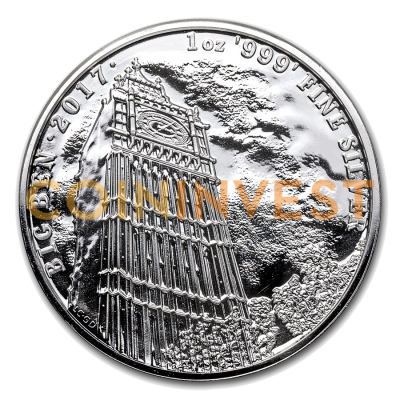 1 oz Landmarks of Britain - Big Ben | Plata | 2017