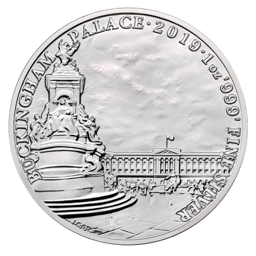1 oz Landmarks of Britain - Buckingham Palace Silver Coin (2019)