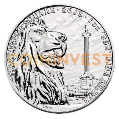 1 oz Landmarks of Britain - Trafalgar Square Silver Coin (2018)