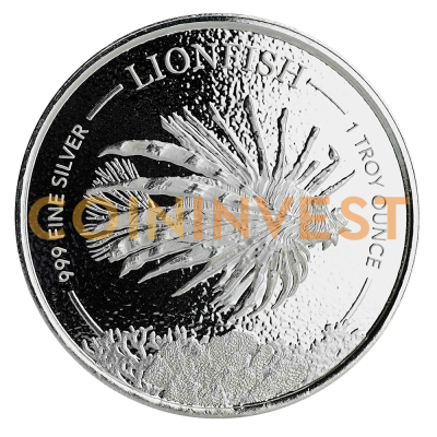1 oz Lionfish Silver Coin (2019)