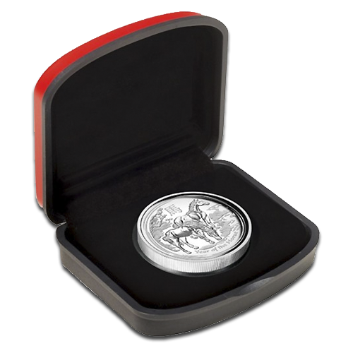 1 oz Lunar II Horse | Proof | High Relief | Silver | 2014