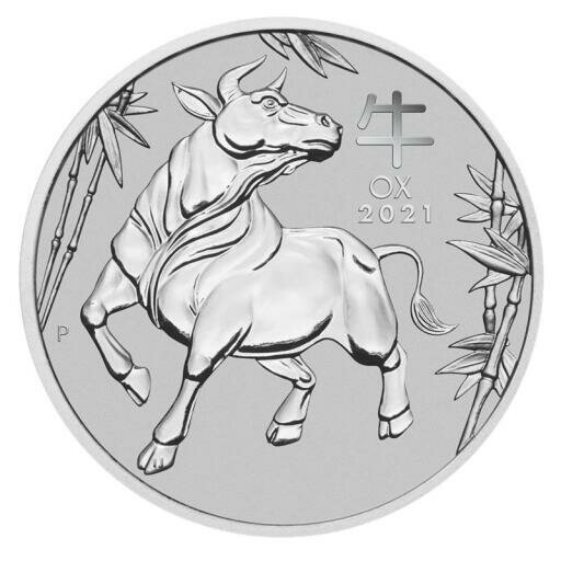 1 oz Lunar III Ox Platinum Coin