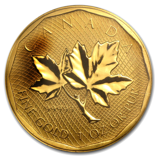 1 oz Maple Leaf | Oro 999.99/1000 | 2da mano | 2008