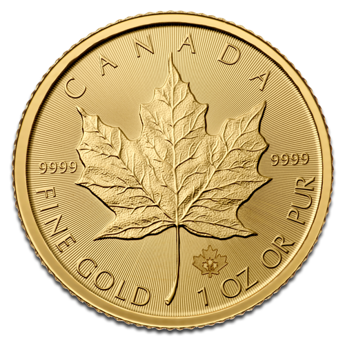 1 oz Maple Leaf | Gold | 2015
