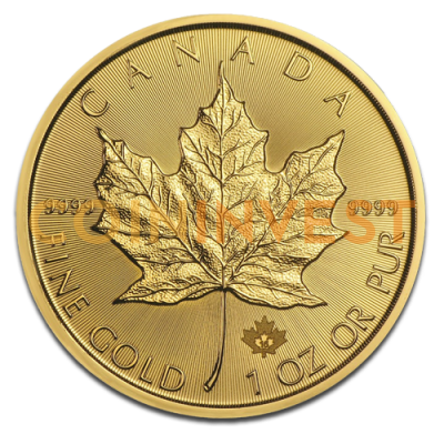 1 oz Maple Leaf | Oro | 2016