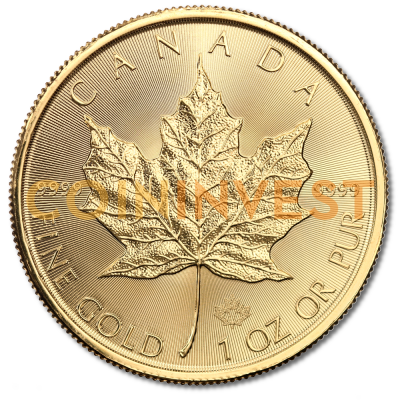 1 oz Maple Leaf Gold Coin 2017