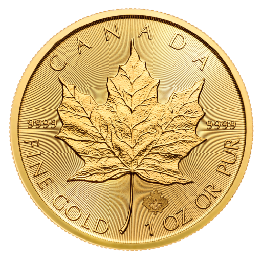 1 oz Maple Leaf | Gold | 2018