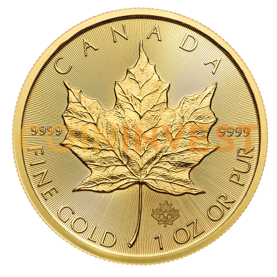 1 oz Maple Leaf | Or | 2019
