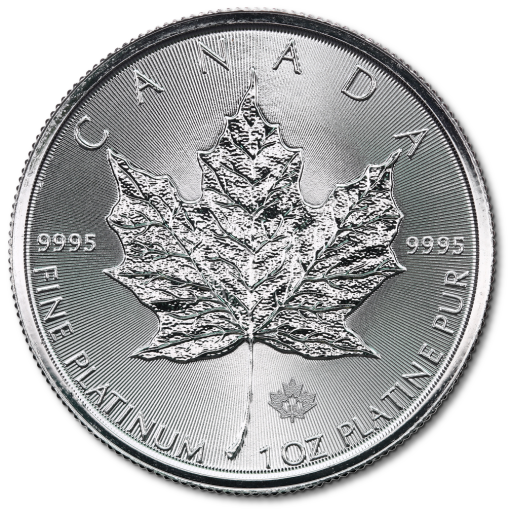 1 oz Maple Leaf Platinum