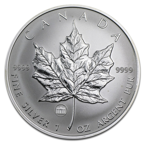 1 oz Maple Leaf Privy Brandenburger Tor | Plata | 2009