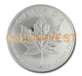 1 oz Maple Leaf Privy Mark 'Tower Bridge' | Argento | 2009