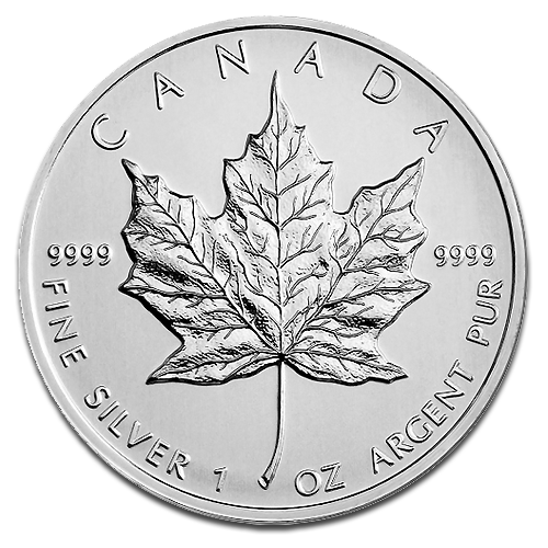 1 oz Maple Leaf | Argent | 2013