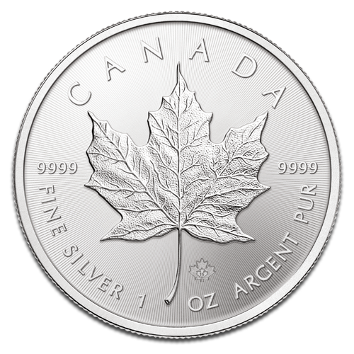 1 oz Maple Leaf | Argent | 2015