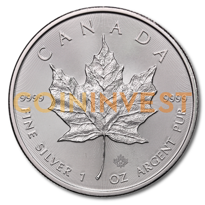 1 oz Maple Leaf | Plata | 2017